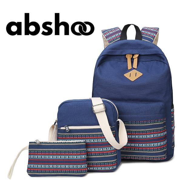 Hot Vintage Canvas Backpacks Women School Bags For Teenager Girls School Bookbags Cute Laptop Backpack For Girls Rucksack Female