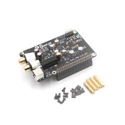 AK4493 Placa de decodificador de DAC de transmisión Digital reproductor de red I2S 32BIT 384KHZ DSD128 para Raspberry Pi 2B 3B 3B + CAD G6-001