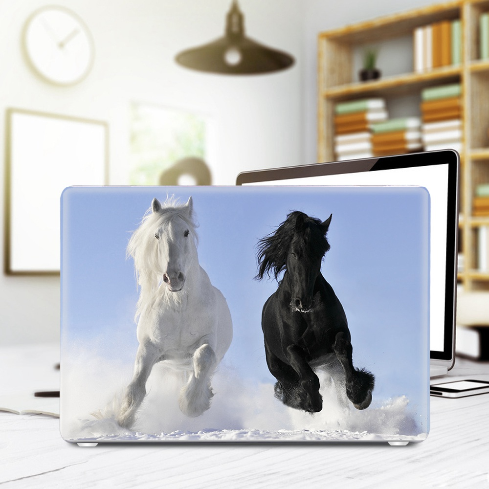 Animal Horse Penguin Polar Bear Sleeve Case for Macbook Pro 13 15 - Նոթբուքի պարագաներ - Լուսանկար 4