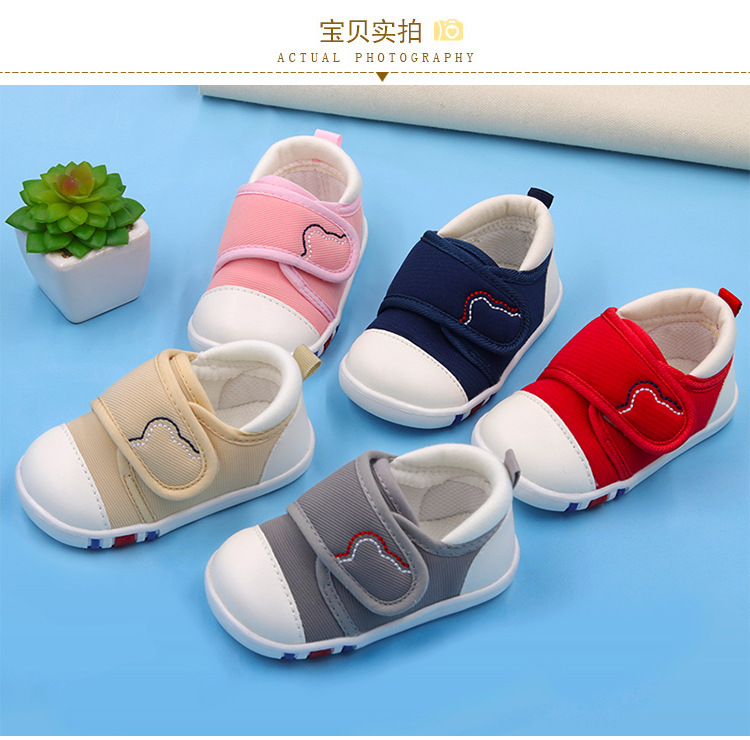 Spring Newest Baby First Walkers Shoes Breathable Autumn Canvas Boys Girls Infant Soft Sole Anti-slippery Warm Toddler Shoes (11)