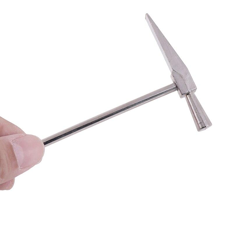 Ручка мини-молоток деревообрабатывающий молоток для ногтей металлический молоток/маленький железный молоток для ремонта часов ручной инструмент аварийный безопасный выход