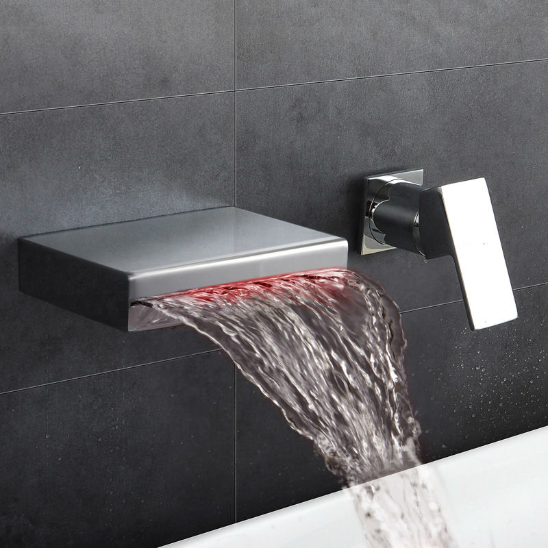 Bathroom faucet black bathroom faucet hot and cold square new style washbasin faucet basin faucet