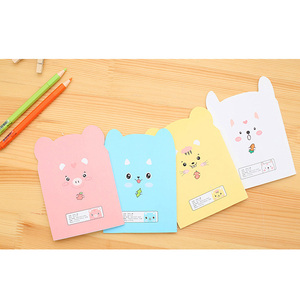 Image 4 - 20 unids/lote pequeño cuaderno de papel con forma de cerdo bonito, diario, papelería, suministros para estudiantes