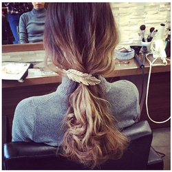 1 stücke Frauen Dame Mädchen Mode Metall Blatt Haar Clip Haarnadel Haarspange Headwear Haar Pins Zubehör Haar Styling Flechten Werkzeuge