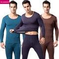 2017 PLANDO Mens Long Johns Men Underwears Brand Scientific Bamboo Comfortable Absorbent Men Bottom