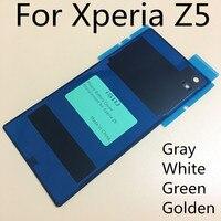 ISIU Phone Case For Sony Xperia Z5 Rear Back Cover Z5 Glass Housing E6603 E6633 E6653