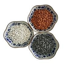 Ванная комната замена очистки воды минеральные шарики отрицательные ионы керамические энергетические шары для фильтра душ головы опрыскиватель