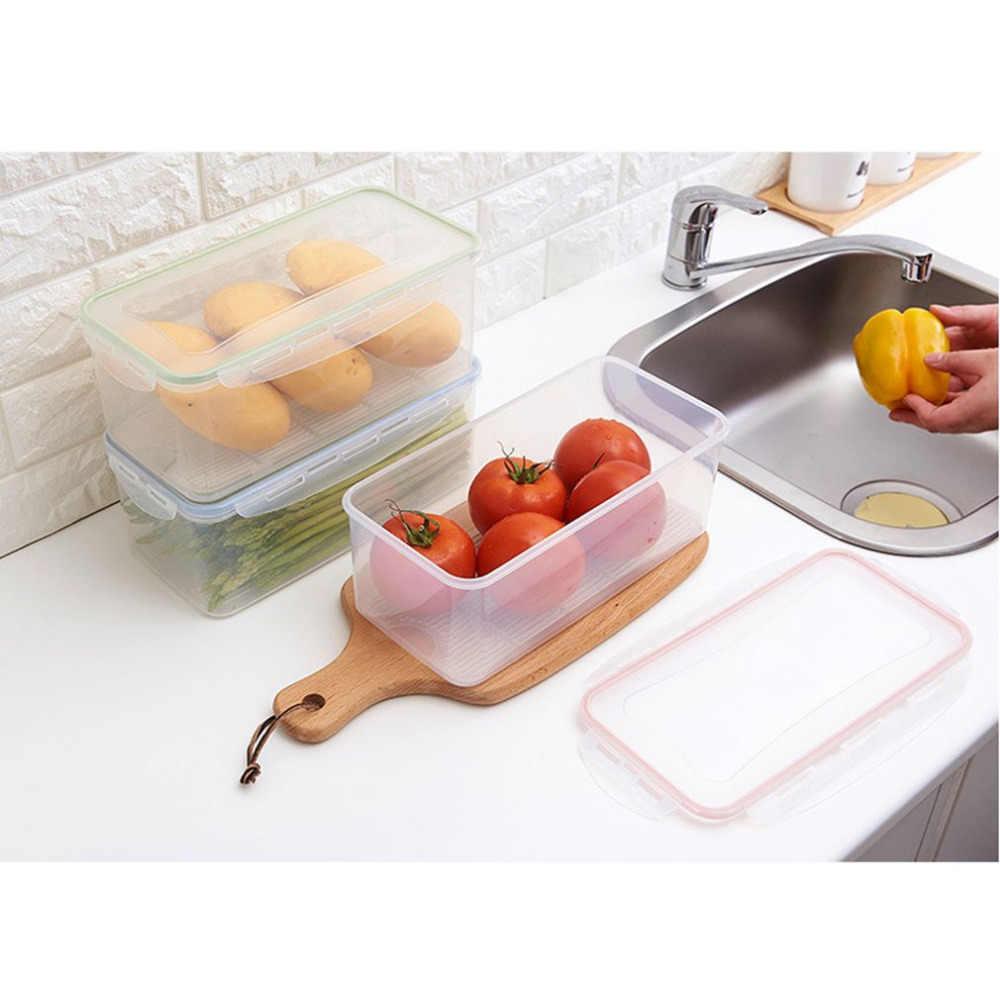 Кухня прозрачный полипропиленовая коробка для хранения зерна контейнер для хранения фасоли содержат герметичный Домашний Органайзер Еда контейнер-холодильник для хранения Коробки