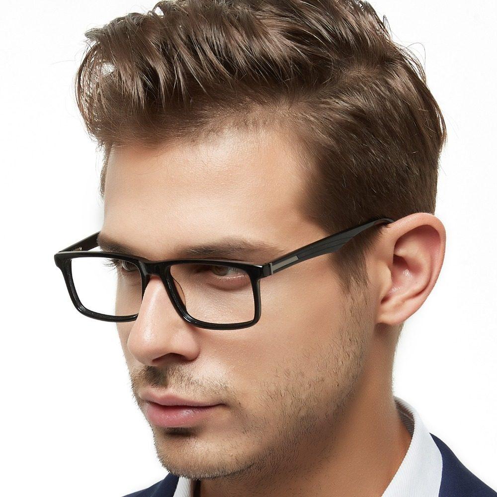 bd342af4b7666 OCCI CHIARI Homens Dos Quadros Dos Vidros Óculos oculos de grau Prescrição  Acetato Miopia Óptico óculos