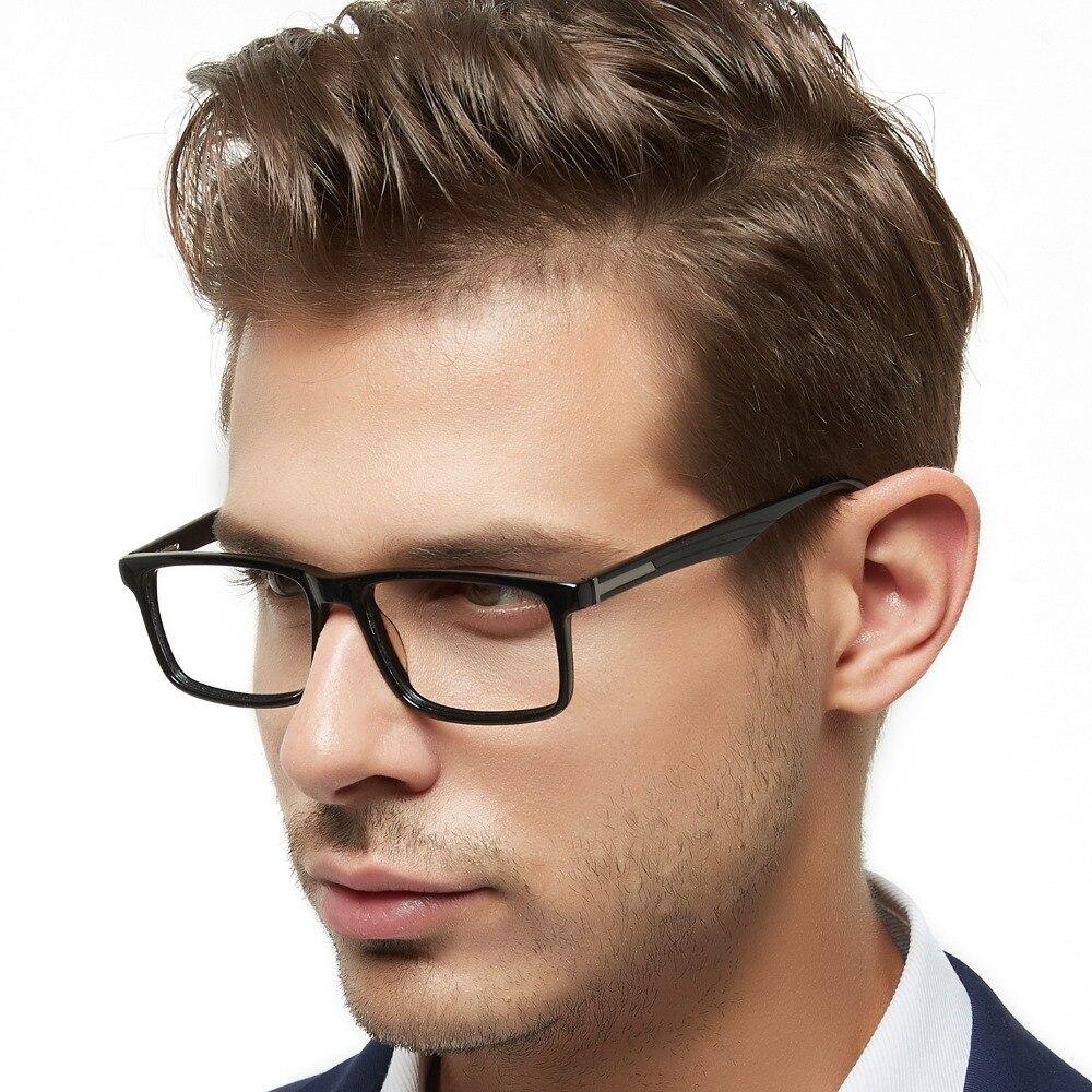 79be276a02c9c OCCI CHIARI Homens Dos Quadros Dos Vidros Óculos oculos de grau Prescrição  Acetato Miopia Óptico óculos