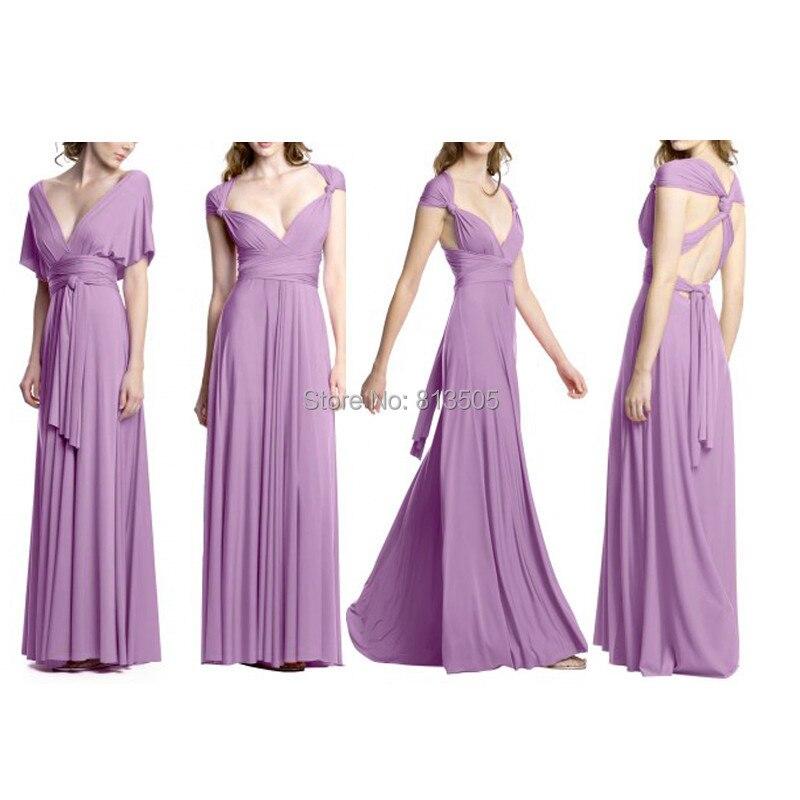 Pink Maxi Dress Free Shipping Cheapest Multi Way Wraps Convertible ...