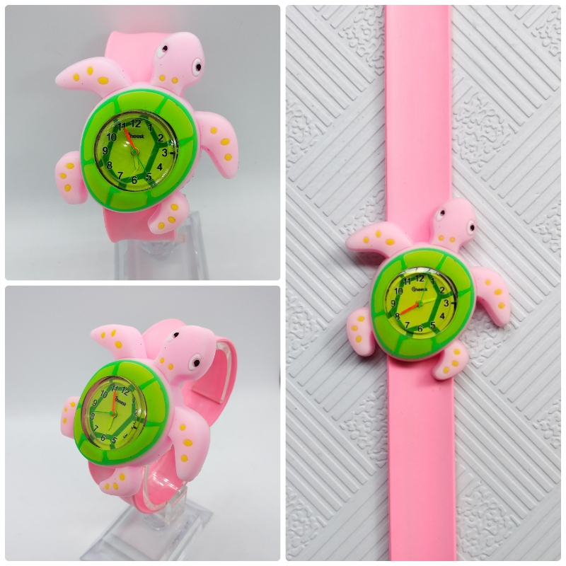 Cartoon Tortoise Children Watch For Girls Boys Gift Student Clock Kids Watches Fashion Casual Child Electronic Watch Baby Toys