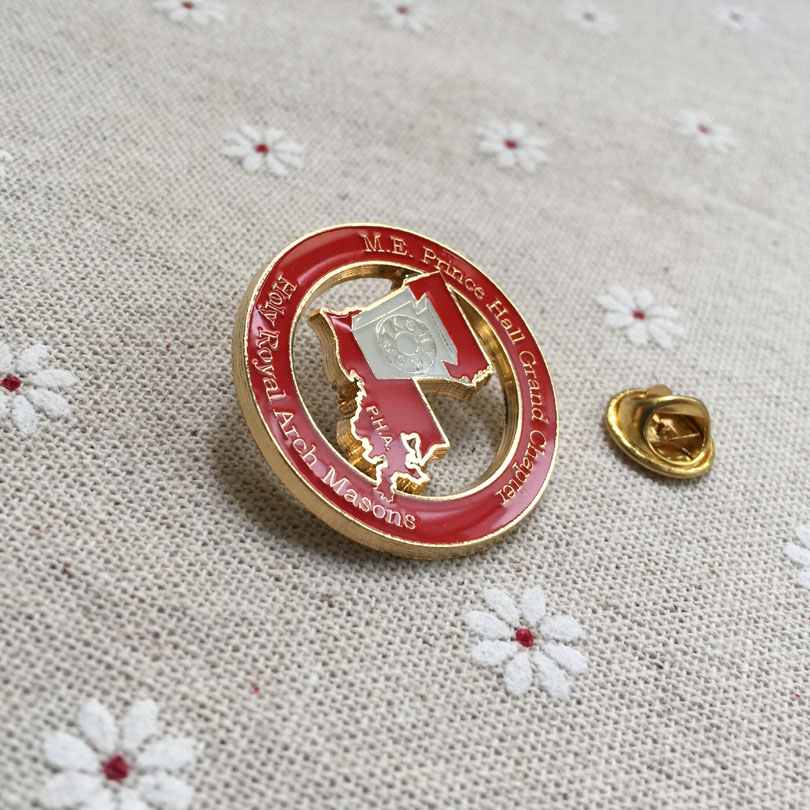 m.e. prince hall grand chapter holy royal arch masons p.h.a lapel pin freemasonry masonic pin badges enamel brooches souvenir