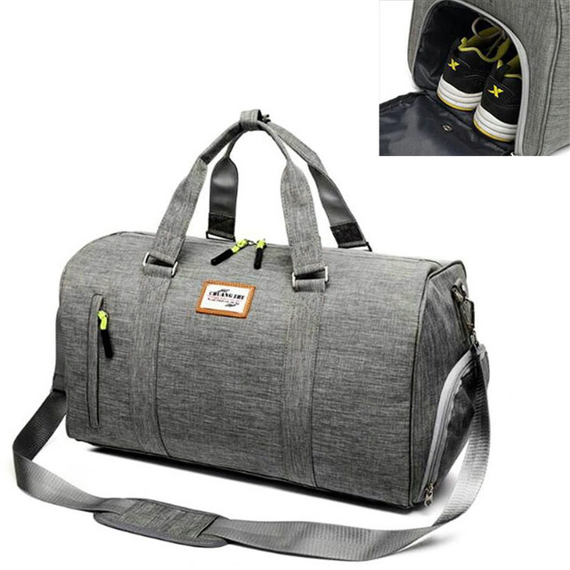 6dc0ee592 Large capacity gym bag outdoor sports bags men wome new style travle  waterproof oxford crossbody bags duffle storage handbag