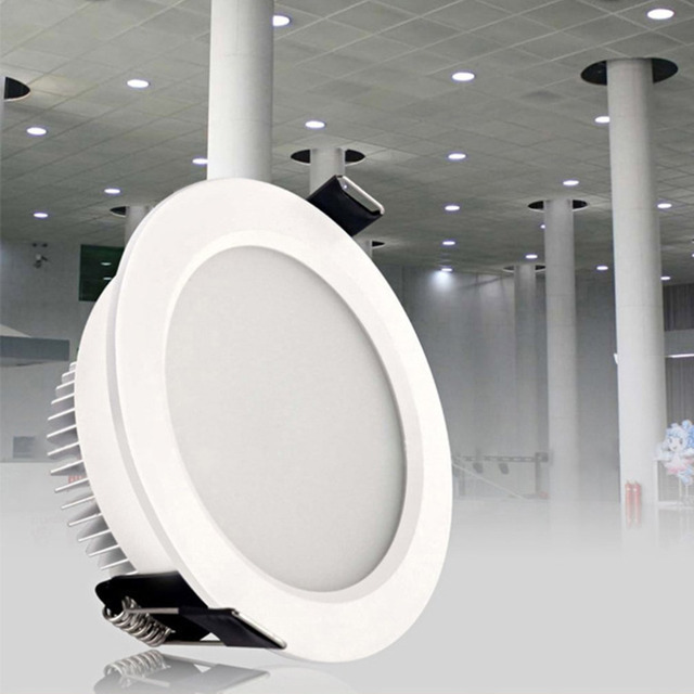 ICOCO 2-Inch 3W Super Bright LED Ceiling Flush Mount Home Lighting Living Room