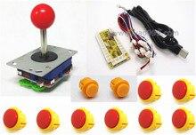 1 kit para un jugador de PC palanca de mando, USB to Jamma arcade, Arcade teclado del panel de control encoder