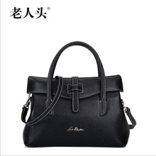 2016 laorentou upscale luxury fashion handbag cow Pi Tuote Roman messenger bag brand 100% high quality of well-known women