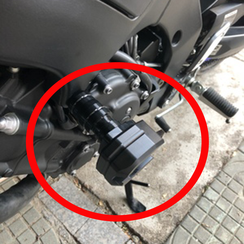 Image 5 - Hot High Quality Motorcycle Crash Protector CNC Engine Cover Frame Sliders For YAMAHA FZ1 FZ1N FZ6 FZ6N FZ8 FZ8N MT03 R3 MT09-in Falling Protection from Automobiles & Motorcycles