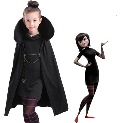 Halloween Vampire Costume Kids.Us 17 68 15 Off Movie Hotel Transylvania Mavis Costume Girls Vampire Costume Kids Mavis Cosplay Costume Halloween Costume For Girls In Girls