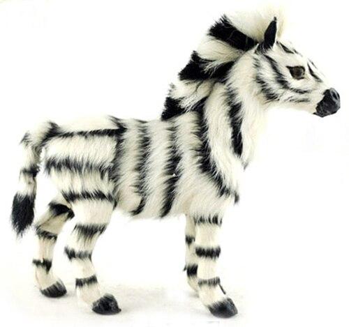 Envío Gratis animales salvajes animados juguetes cebra estatuilla decorativa hogar
