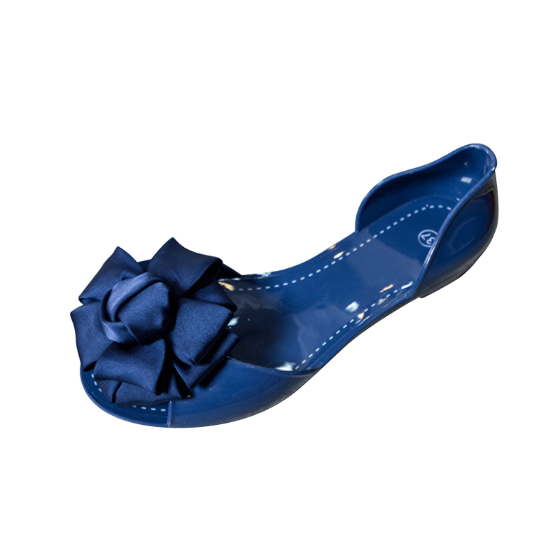 Summer Jelly Shoes Woman Beach Flowers Jelly Sandals 2017 Slip On Casual Flats Women Shoes Slippers Flip Flops size 35-40 lanshulan bling glitters slippers 2017 summer flip flops platform shoes woman creepers slip on flats casual wedges gold