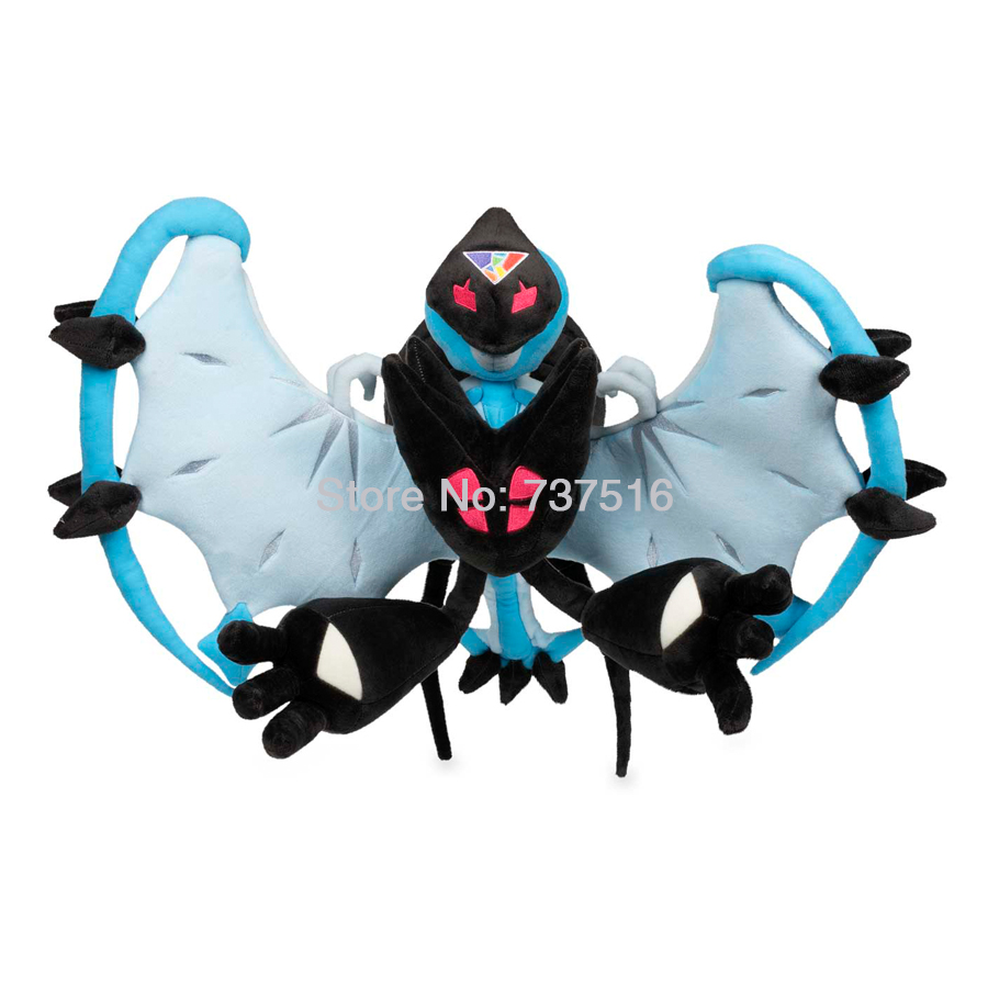 New Japan Anime Necrozma & Lunala Merge-Dawn Wing Dream Plush features bendable arms  17 inches Stuffed Animals Doll Toys GiftNew Japan Anime Necrozma & Lunala Merge-Dawn Wing Dream Plush features bendable arms  17 inches Stuffed Animals Doll Toys Gift