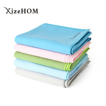 цена на XizeHOM 80*180cm Beach towel Microfiber Travel Fabric Quick Drying outdoors Sports Swimming Camping Bath Yoga Mat Blanket Gym