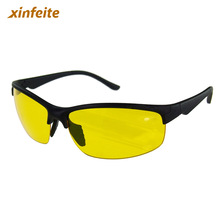 New arrival High Definition Night Vision Glasses Driving Sunglasses Yellow Lens Classic UV400