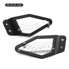 For KAWASAKI Z750 Z 750 2007 2008 2009 Foot Peg Heel Plates Guard Protector Motorcycle Accessories