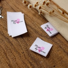 Пользовательские швейные этикетки/фирменные этикетки, бирки для одежды на заказ, ватные ленты этикетки, этикетка ручной работы(MD56