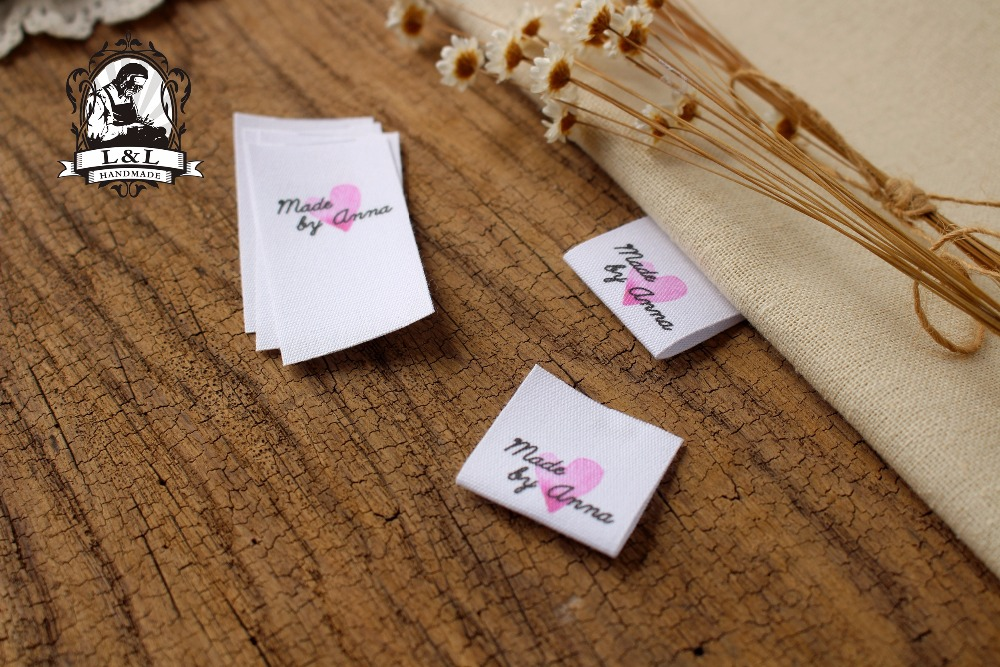 Custom Ribbon Label Clothing-Tags Sewing-Labels/brand-Labels Cotton MD56