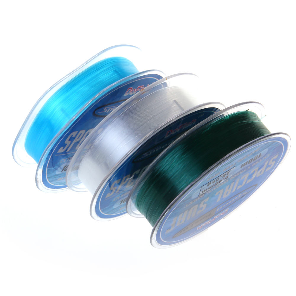 Fluorocarbon line fishing line 100m for fishing fishing for Fluorocarbon fishing line