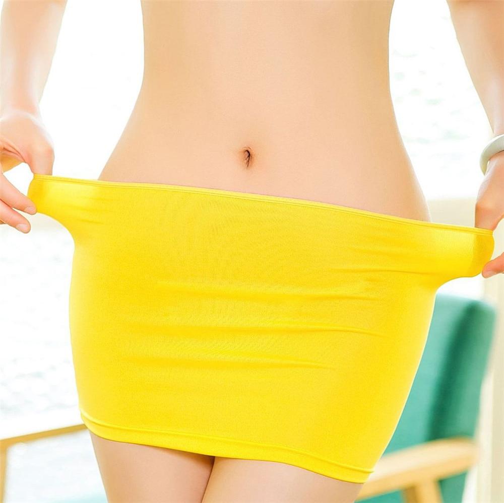 NEW Faldas Mujer Moda 2018 Sexy UltraShort Buttocks Perspective Japan Mini Skirt Harajuku Skirts Womens Jupe Femme Saia Gothic