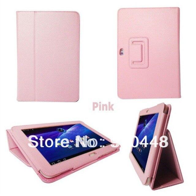 Бесплатная доставка личи pattern Фолио Стенд держатель PU Кожаный Чехол Для Samsung Galaxy Tab 8.9 P7300 P7310