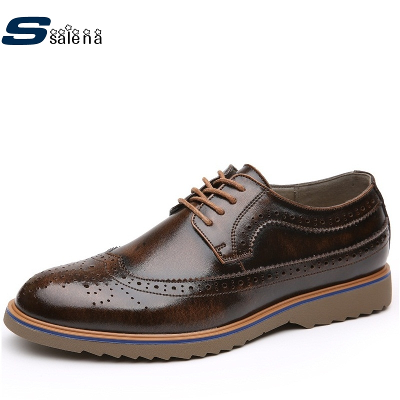 Boys Casual Shoes Soft Footwear Classic Flats Men Leather Shoes Wearable Comfortable Shoes AA20143 male casual shoes soft footwear classic men working shoes flats good quality outdoor walking shoes aa20135