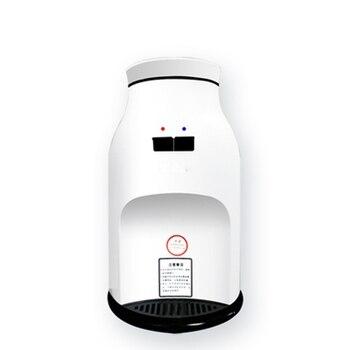 DMWD 2018 Popular Mini dispensador de agua calentador de agua fría 220 V/agua caliente fuente 5L cubo alto calidad