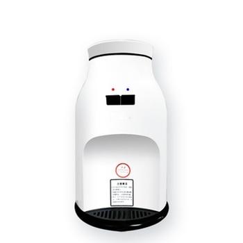 DMWD 2018 más nuevo Popular Mini dispensador de agua calentador de agua 220 V fuente de Agua Fría/caliente para 5L Cubo de alta calidad