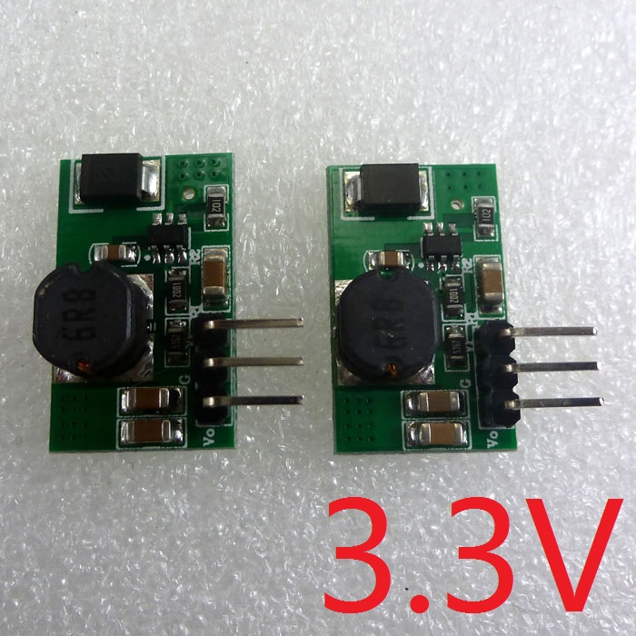 2pcs 1 2a 5v 6v 9v 12v To 3 3v Dc Dc Converter Step Down