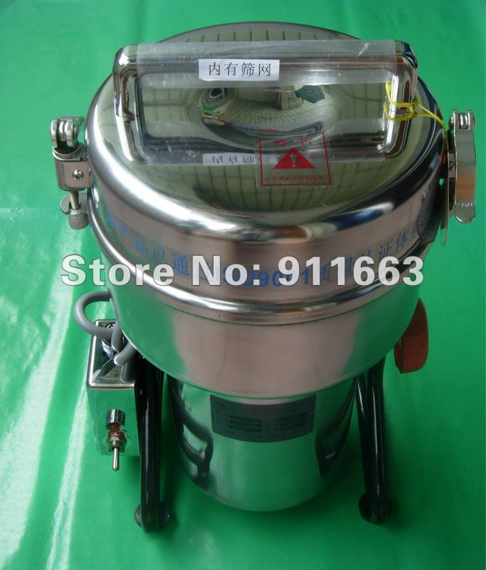 1000g Swing Full Stainless Herb Grinder/ Food Grinding Machine/coffe Grinder /grinding Machine Bright Luster Fine Jewelry Dfy-1000d