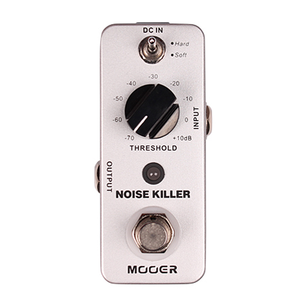 Mooer Noise Killer Noise Reduction Guiatr Effect Pedal True Bypass MNR1 mooer ensemble queen bass chorus effect pedal mini guitar effects true bypass with free connector and footswitch topper