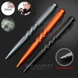 Modieuze Aluminium Tactical Pen Personal Security Zelfverdediging Levert EDC Tool Balpen Gift Box Dropshipping