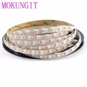 Image 5 - 50 M 10X5 M 60 LEDS/M 300 LEDs SK6812 WS2812B Individualmente Endereçável 5050 RGB LED Strip luz LED Pixel Lâmpada Flexível