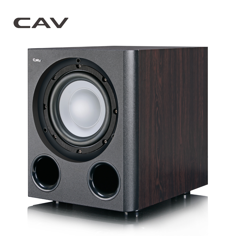 CAV Q3BN Subwoofer Home Theater 5 1 Lighter Type 8 Inch Powered Subwoofers Wood Bass Home
