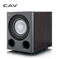 CAV Q3BN сабвуфер домашний Театр 5,1 легче Тип 8 дюймовый сабвуферов дерева Бас дома Театр стерео звук глубокий бас Динамик