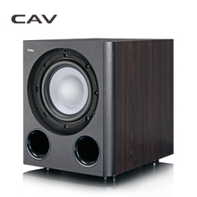 CAV Q3BN Subwoofer Home Theater 5,1 Leichter Typ 8-zoll Powered Subwoofer Holz Bass Heimkino Stereo Sound Deep Bass Lautsprecher