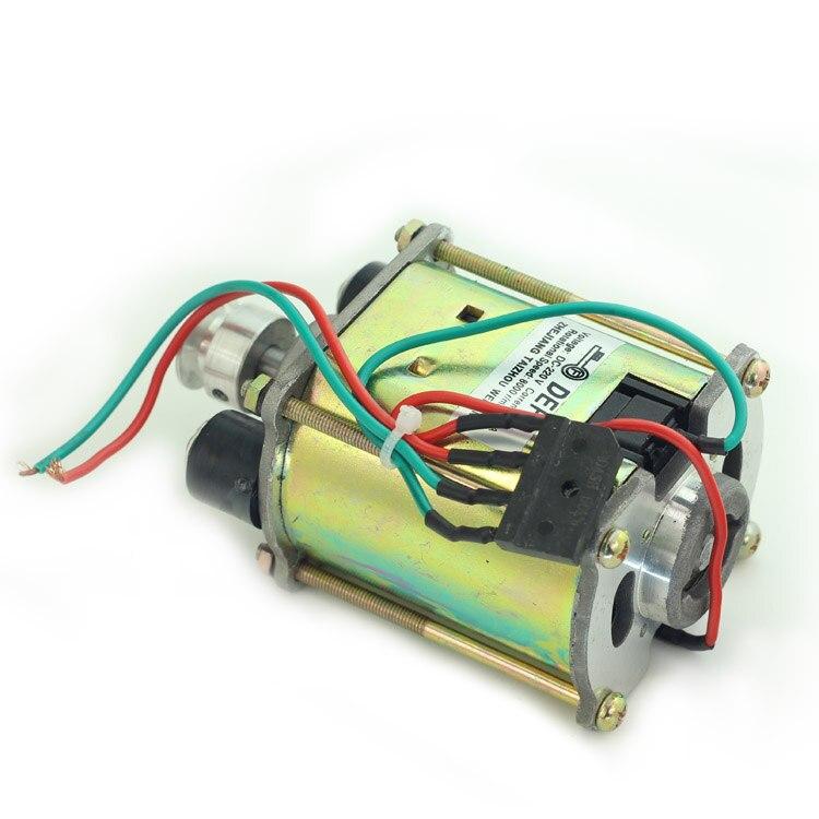 Electric Motor Parts For DE FU Key Cutting Machine 998C ModelElectric Motor Parts For DE FU Key Cutting Machine 998C Model