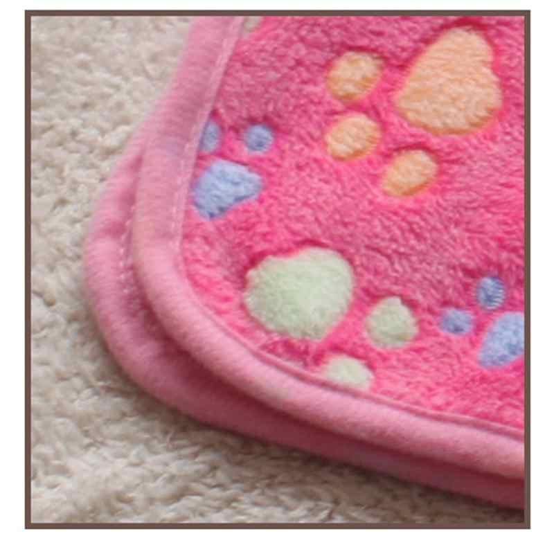 4 цвета, кровать для собаки, мягкая фланелевая флисовая, принт со звездой, теплое одеяло для питомца, покрывало для кровати, коврик для маленькой средней собаки, кошки, Прямая поставка