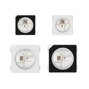 Image 5 - Sk6812 100 rgb pixel smd (similar com ws2812b), 10 peças 5050/3535 peças chip digital endereçável individualmente, cor completa, led, dc5v