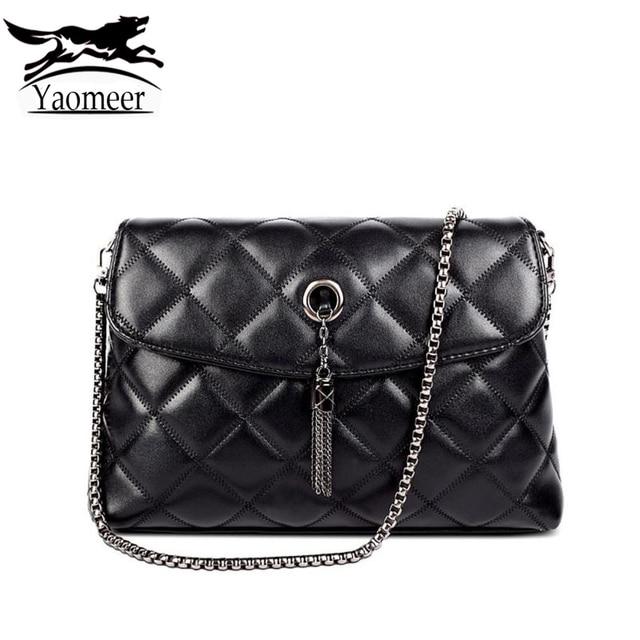 Luxury Chain Bag Female Crossbody Shoulder Bags Small Black Quilted Handbags Women Designer Brand Famous