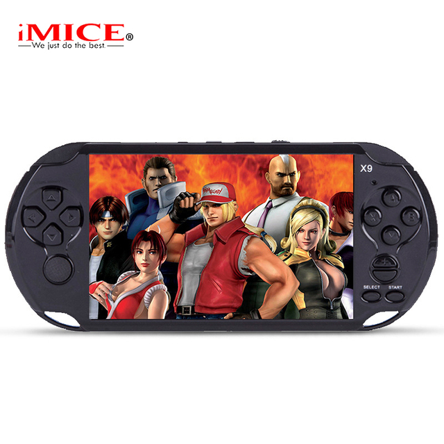 5.0 Large Screen Handheld Gaming console Player Support TV Out Put With MP3/Movie Camera Multimedia Video Game Console Child toy